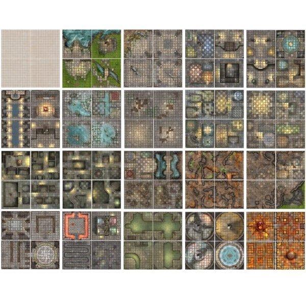 Dungeon-book-of-Battle-Mats-Interno-2