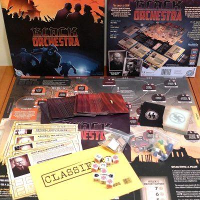Black Orchestra -contenuto del gioco