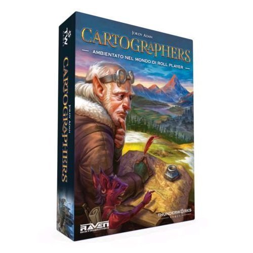 Cartographers - gioco da tavolo roll n write