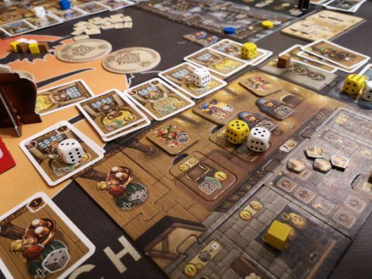 Fase di gioco - Taverne di Valfonda