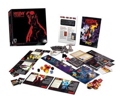 Hellboy - The boardgame - contenuto