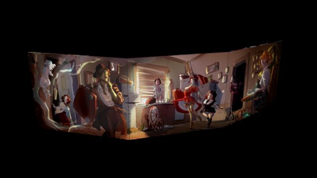 The Silence of Hollowind - Pin Up GM Screen | Giochi di Ruolo ...