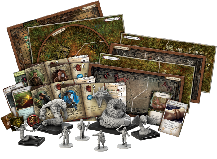 Il Sentiero del Serpente - contenuto del gioco