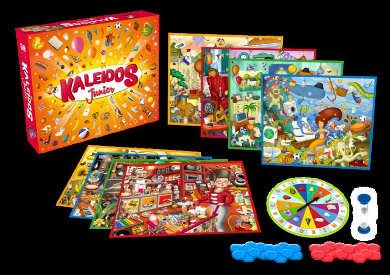 Kaleidos Junior - contenuto del gioco