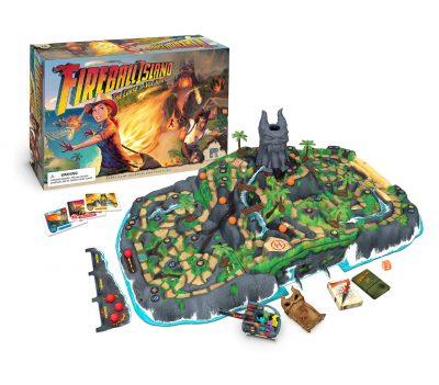 L'isola di fuoco - contenuto del gioco
