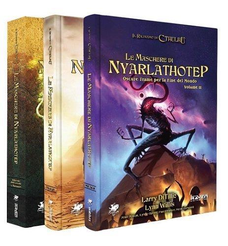 Le Maschere di Nyarlathotep - manuali del gioco