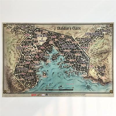 Mappa di Baldur's Gate