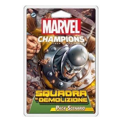 Marvel Champions - Pack Scenario Squadra di Demolizione