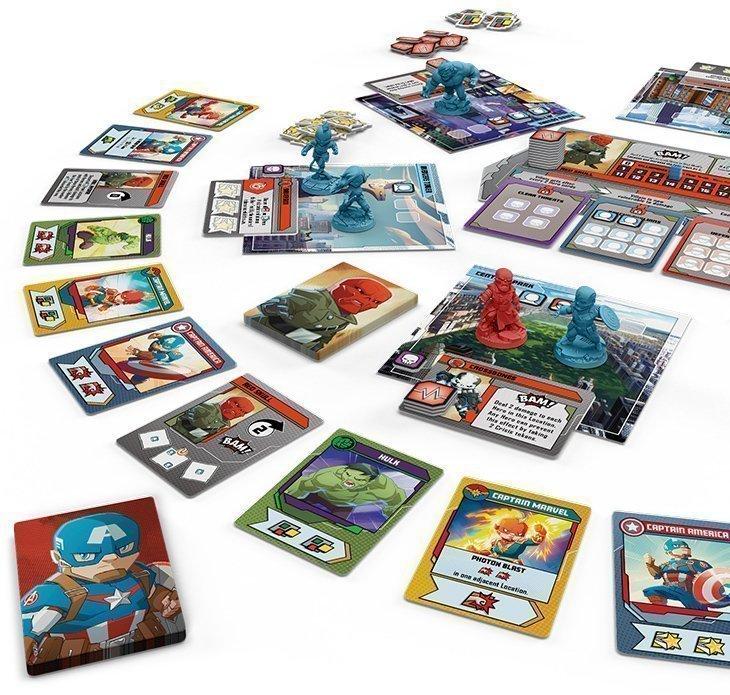 Marvel United - panoramica di gioco