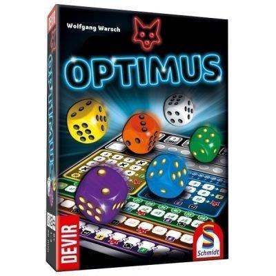 Optimus - roll n write - ganz schon clever