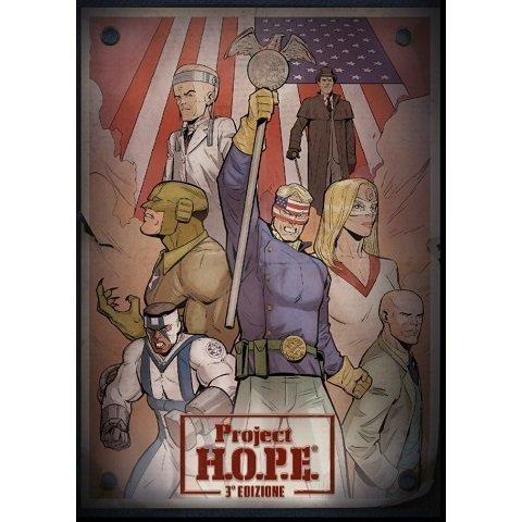 Project H.O.P.E. Il Gioco di Ruolo - Terza Edizione - gioco di ruolo