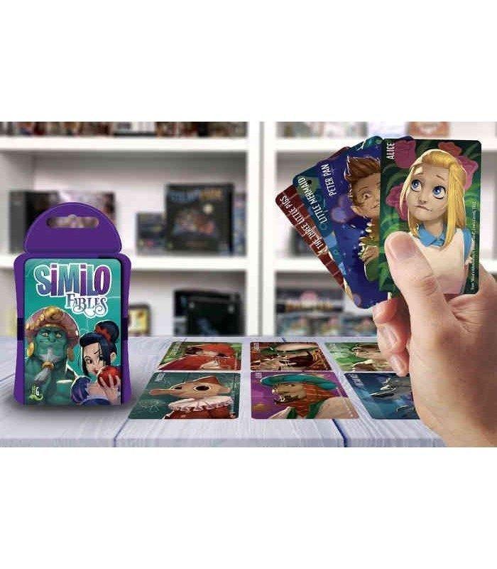 Similo Fiabe - contenuto del gioco