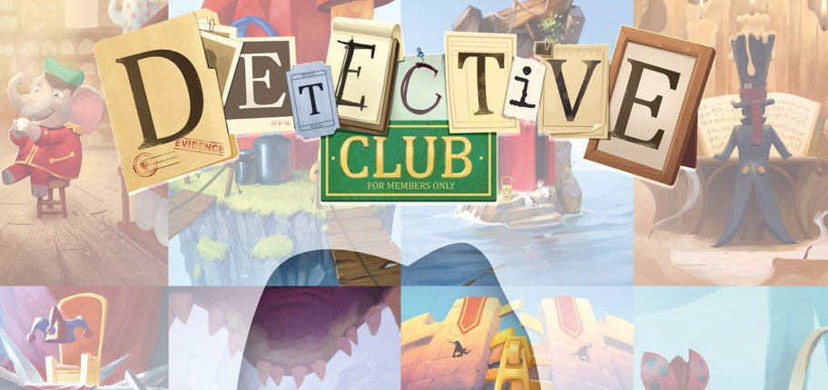 Detective club party game italiano