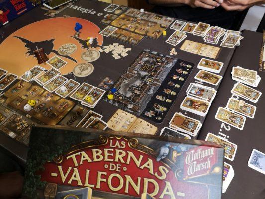 Taverne di Valfonda - Panoramica di gioco