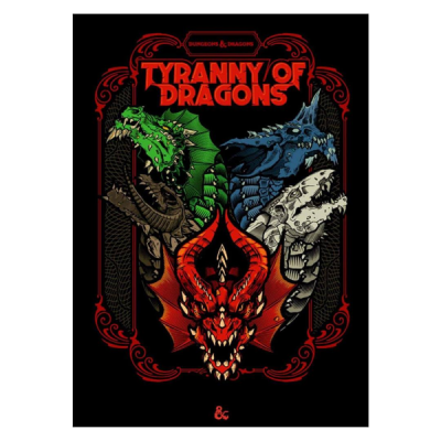 Tyranny of Dragons - alternate cover