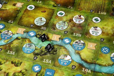Undaunted Normandy - dettaglio di gioco