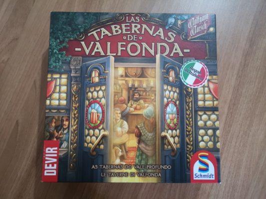 Las Tabernas de Valfonda - scatola