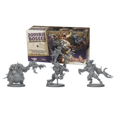 Zombie Bosses - Abomination Pack miniature